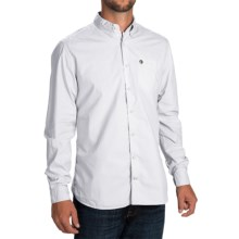 Barbour Laundered Button-Front Shirt - Long Sleeve (For Men) in White - Closeouts
