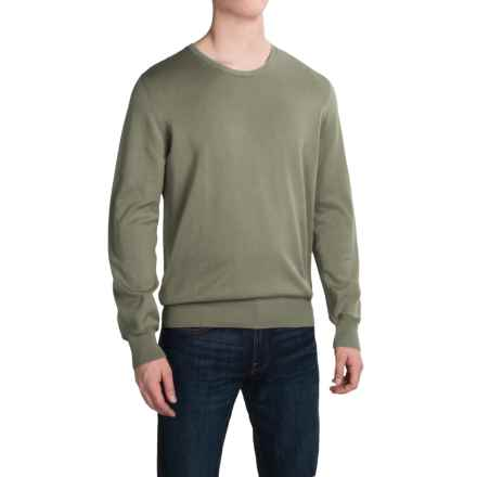 Barbour Laundered Sweater (For Men) in Olive - Closeouts
