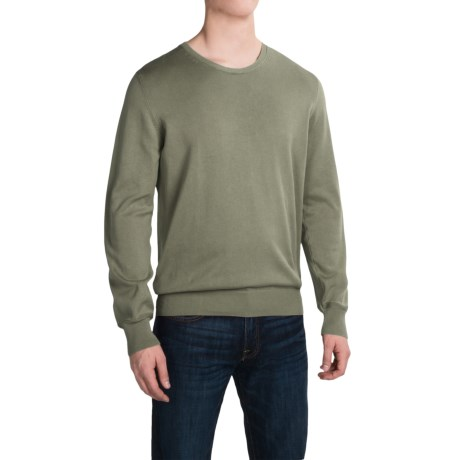 Barbour Laundered Sweater (For Men) in Olive