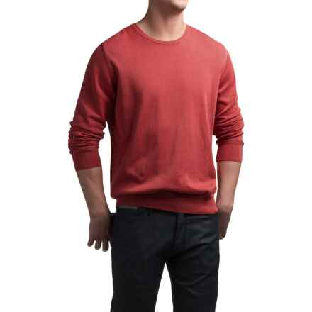 Barbour Laundered Sweater (For Men) in Red - Closeouts