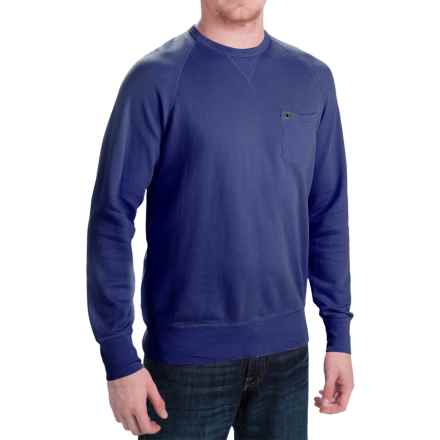 Barbour Laundered Sweatshirt (For Men) in Inky Blue - Closeouts