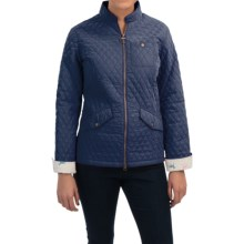 Barbour Lead Quilted Jacket (For Women) in Indigo - Closeouts
