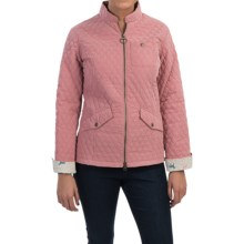 Barbour Lead Quilted Jacket (For Women) in Pink - Closeouts