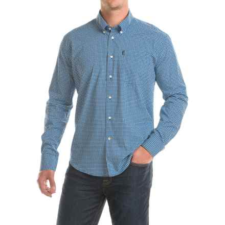 Barbour Leonard Fitted Shirt - Long Sleeve (For Men) in Ny91 Navy - Closeouts