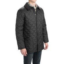 Barbour Liddesdale Quilted Nylon Jacket (For Men) in Black/Red - Closeouts