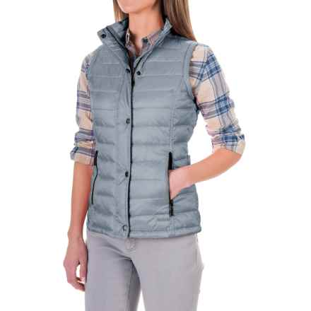 Barbour Lightweight Quilted Vest - Insulated (For Women) in Ice Blue, Alasdair - Closeouts