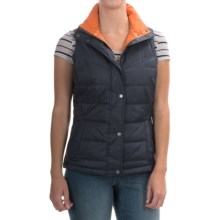 Barbour Lightweight Quilted Vest - Insulated (For Women) in Navy, Bowline - Closeouts