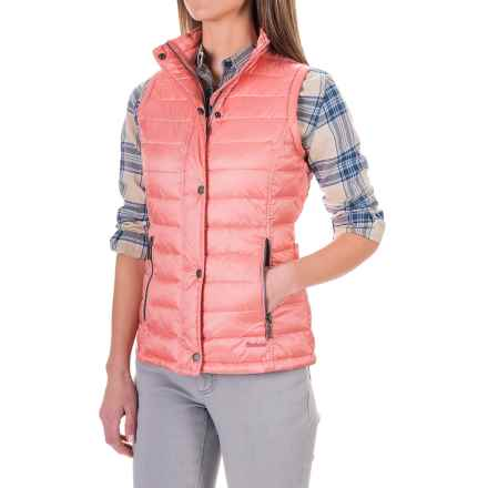 Barbour Lightweight Quilted Vest - Insulated (For Women) in Vintage Rose, Alasdair - Closeouts