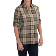 Barbour Linchen Cotton Shirt - Voile Lining (For Women) in Dress Tatan - Closeouts
