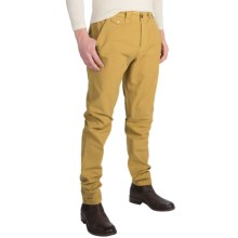 Barbour Mallon Houndstooth Pants - Slim Fit (For Men) in Antique Yellow - Closeouts