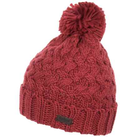Barbour Maybole Knit Beanie (For Women) in Saffron - Closeouts