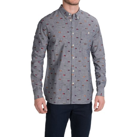 Barbour Medal Shirt Cotton Chambray, Long Sleeve (For Men)