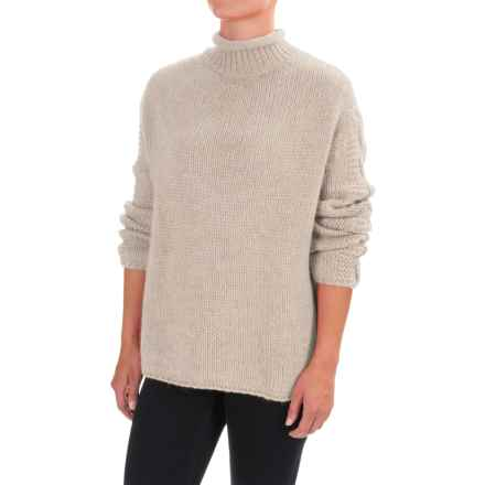 Barbour Melilot Sweater (For Women) in Ecru - Closeouts