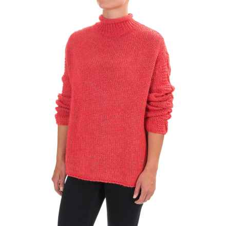 Barbour Melilot Sweater (For Women) in Rich Coral - Closeouts
