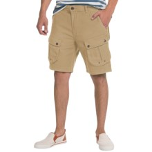 Barbour Mountain Cotton Twill Shorts (For Men) in Stone - Closeouts