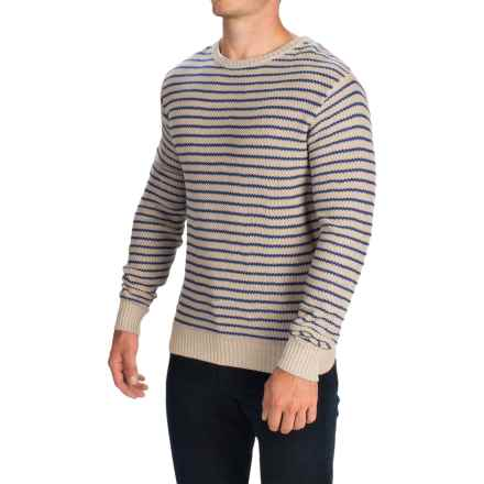 Barbour Naval Belter Sweater (For Men) in Neutral - Closeouts