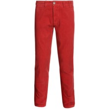 Barbour Neuston Corduroy Trouser Pants (For Men) in Dark Ruby - Closeouts