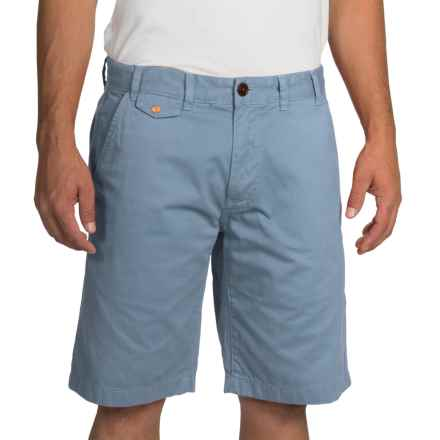 Barbour Neuston Twill Shorts (For Men) in Powder Blue - Closeouts