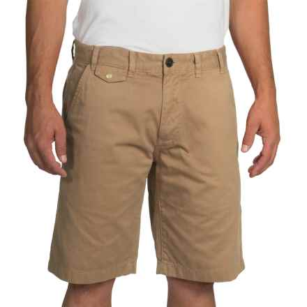 Barbour Neuston Twill Shorts (For Men) in Stone - Closeouts
