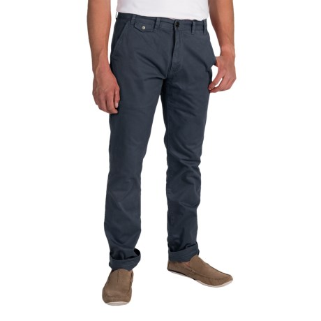 Barbour Neuston Twill Trousers (For Men) in Blue Night