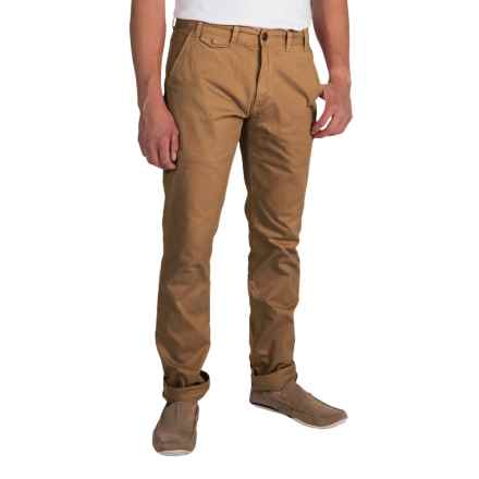 Barbour Neuston Twill Trousers (For Men) in Camel - Closeouts