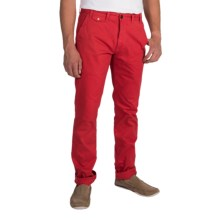 Barbour Neuston Twill Trousers (For Men) in Pillar Box Red - Closeouts