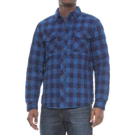 Barbour Nitro Overshirt - Long Sleeve (For Men) in Navy - Closeouts