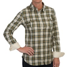 Barbour Northgate Shirt - Long Sleeve (For Women) in Ancient Check - Closeouts
