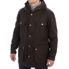 Barbour Northolt Jacket - Sylkoil Waxed Cotton (For Men) in Rustic - Closeouts
