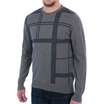 Barbour Oban Crew Neck Sweater (For Men) in Grey Marl - Closeouts