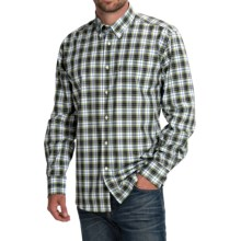 Barbour Olvanhill Cotton Shirt - Regular Fit, Long Sleeve (For Men) in Turf - Closeouts