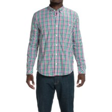Barbour Orlando Shirt - Long Sleeve (For Men) in Turf Check - Closeouts