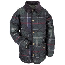 Barbour Orwell Quilted Jacket - Insulated (For Boys) in Classic Tartan - Closeouts