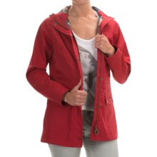 Barbour Outdoor Beadnell Hooded Jacket (For Women) in Red - Closeouts
