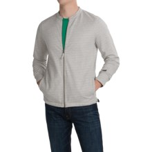 Barbour Pace Sweatshirt - Full Zip (For Men) in Grey Marl - Closeouts