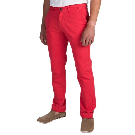 Barbour Pantone Collection Chino Pants (For Men) in Red
