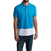 Barbour Pantone Heritage Polo Shirt - Short Sleeve (For Men) in Ocean - Closeouts