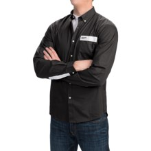Barbour Pantone Heritage Shirt - Long Sleeve (For Men) in Black - Closeouts