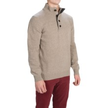 Barbour Patch Lambswool Sweater (For Men) in Stone - Closeouts