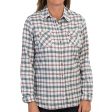 Barbour Patterdale Shirt - Long Sleeve (For Women) in Blue Check - Closeouts