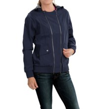 Barbour Pendeen Jacket - Waterproof (For Women) in Navy - Closeouts