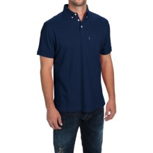 Barbour Pocket Polo Shirt - Short Sleeve (For Men) in Navy - Closeouts