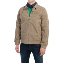 Barbour Polo Club Warm-Up Jacket (For Men) in Military Brown - Closeouts