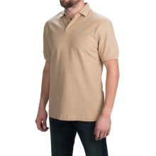 Barbour Polo Shirt - Short Sleeve (For Men) in Dark Stone, Sports 215G - Closeouts