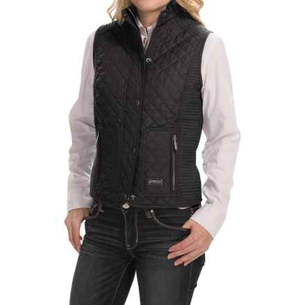 Barbour Quilted Vest (For Women) in Black, Dera Road Star - Closeouts