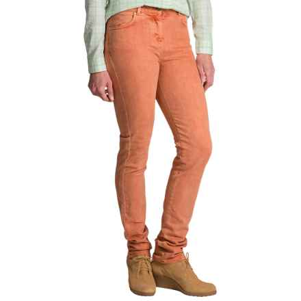 Barbour Rampside Stretch Twill Pants - Slim Fit (For Women) in Amber - Closeouts