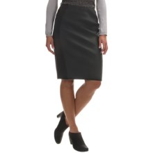 Barbour Range Rover Ratio Pencil Skirt (For Women) in Black - Closeouts