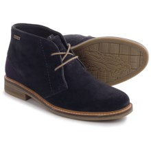Barbour Readhead Suede Chukka Boots (For Men) in Navy - Closeouts