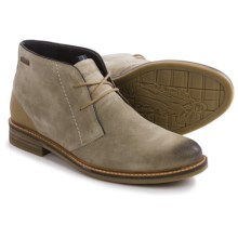 Barbour Readhead Suede Chukka Boots (For Men) in Stone - Closeouts