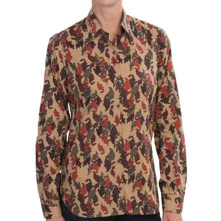 Barbour Redmire Printed Shirt - Long Sleeve (For Women) in Leaf - Closeouts